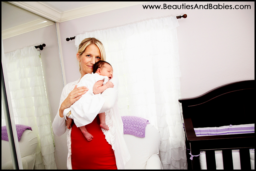 mother child newborn baby photography Los Angeles
