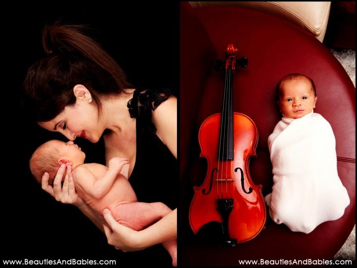 top creative newborn baby photographer Los Angeles