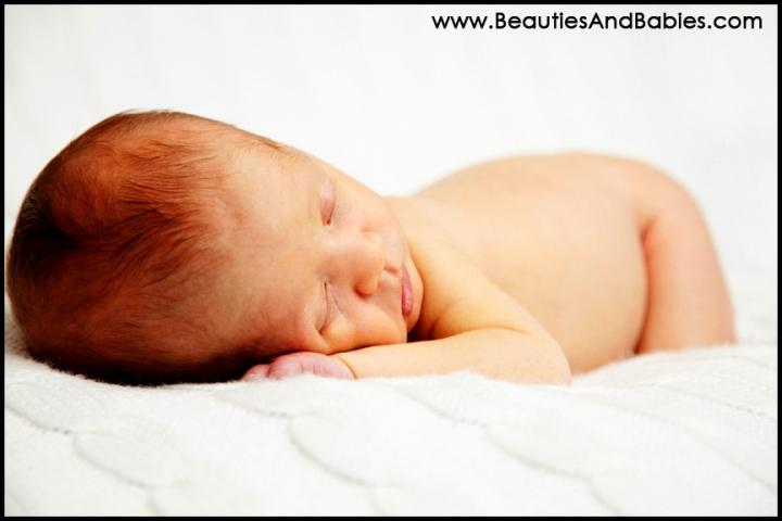 sleeping newborn baby photography Los Angeles