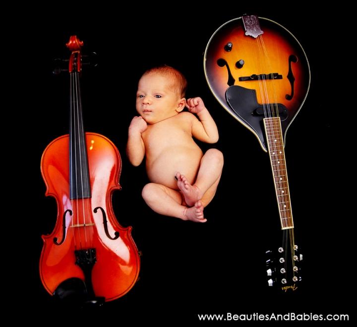 creative newborn baby boy pictures Los Angeles photographer