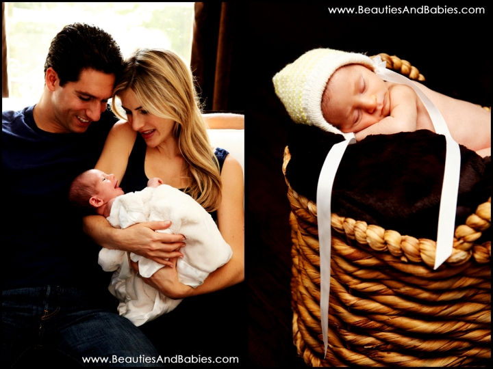 best LA newborn baby photography studio