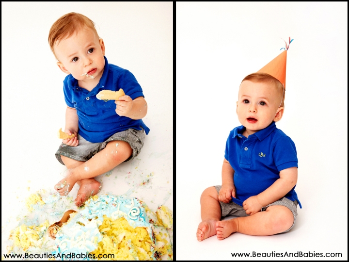 professional cake smash photography Los Angeles