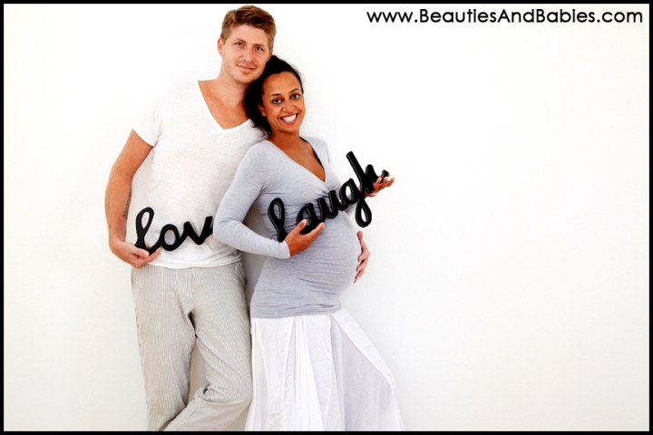 creative pregnancy photography Los Angeles photographer