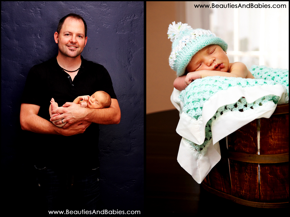 creative newborn baby photography Los Angeles