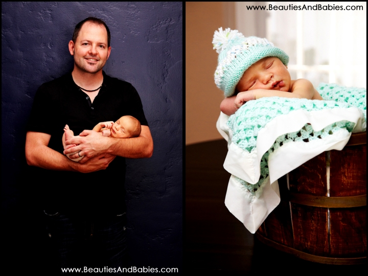 creative newborn baby photography Los Angeles