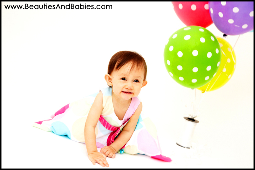 baby girl 1st birthday photography professional Los Angeles