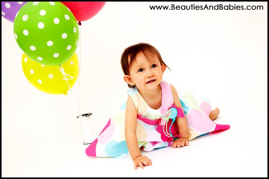 Los Angeles 1st birthday professional photographer