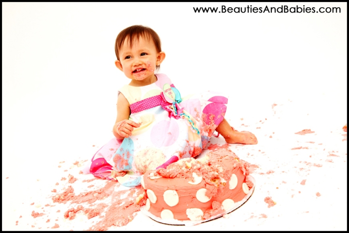 best Los Angeles baby birthday photography studio