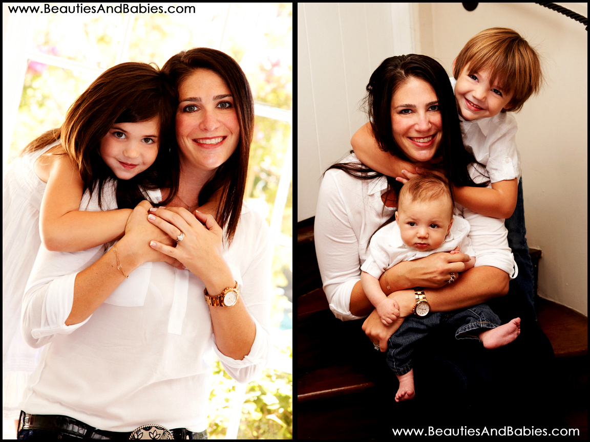 mother and children professional pictures Los Angeles photographer