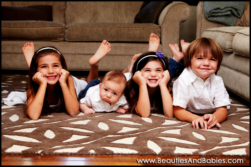 4 kids professional pictures Los Angeles photographer
