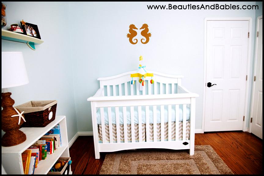 Everything Designish Baby Boy S Nursery: Newborn Baby Boy Beach And Ocean Nursery