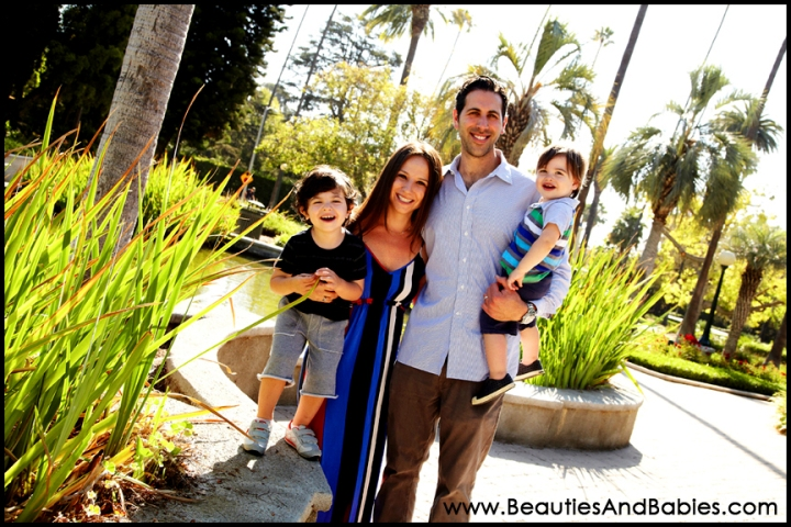 Los Angeles family portrait photography studio