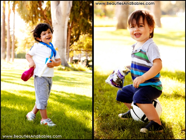 best Los Angeles outdoor children's photography LA park