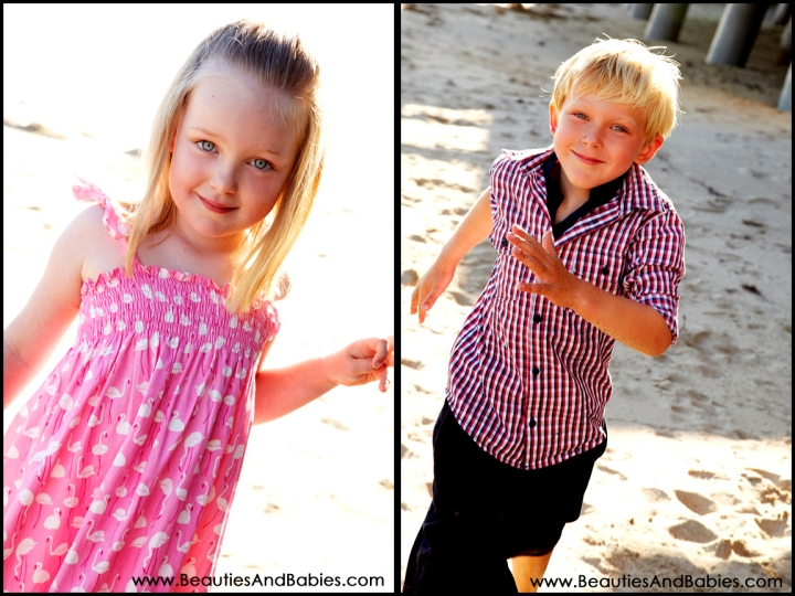 Best Los Angeles childrens photographer outdoors at the beach