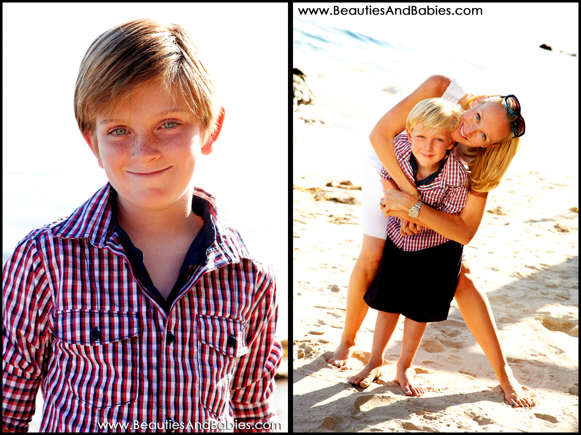 LA family and child portrait photographer
