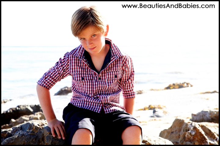 top child photography at the beach Los Angeles photographer