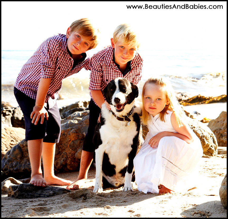 best LA kids portrait photography outdoors