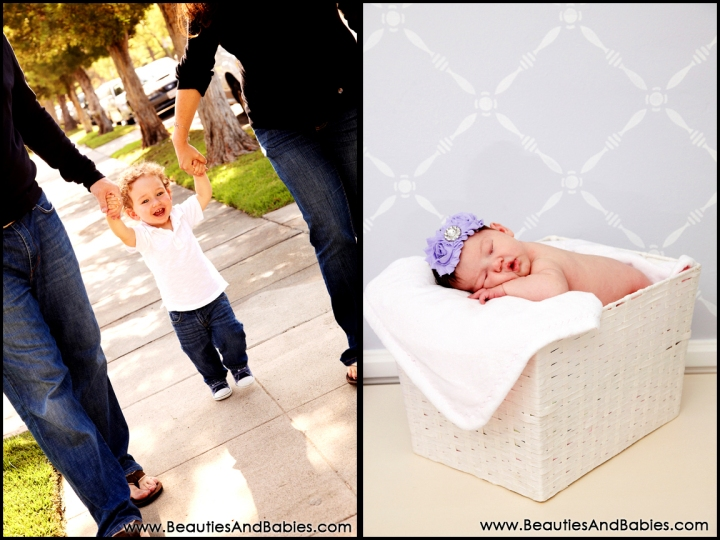 Los Angeles newborn baby and toddler photography professional