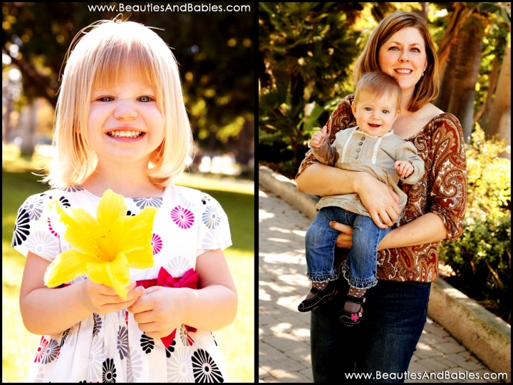 top LA family and child portrait photographer