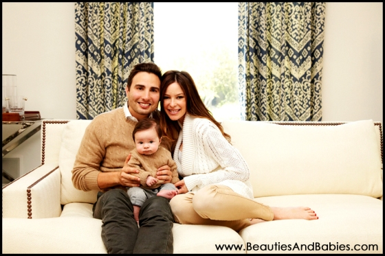 professional family portrait photography Los Angeles baby photographer