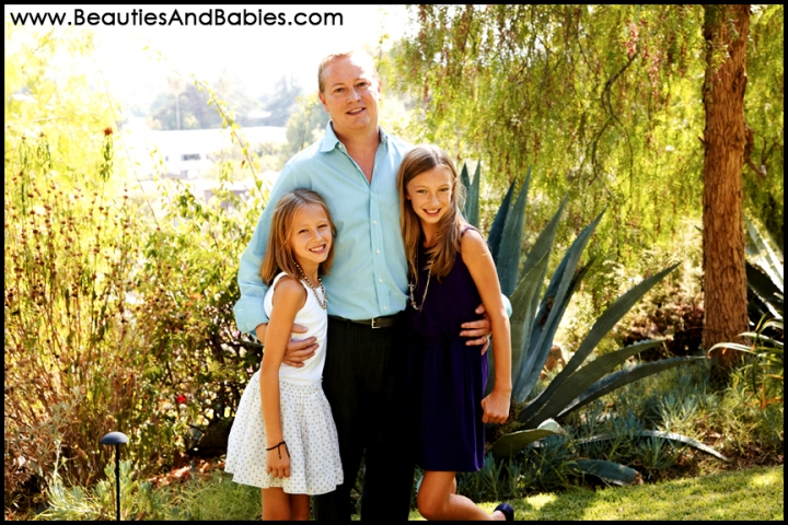father daughter portrait photography Los Angeles photographer