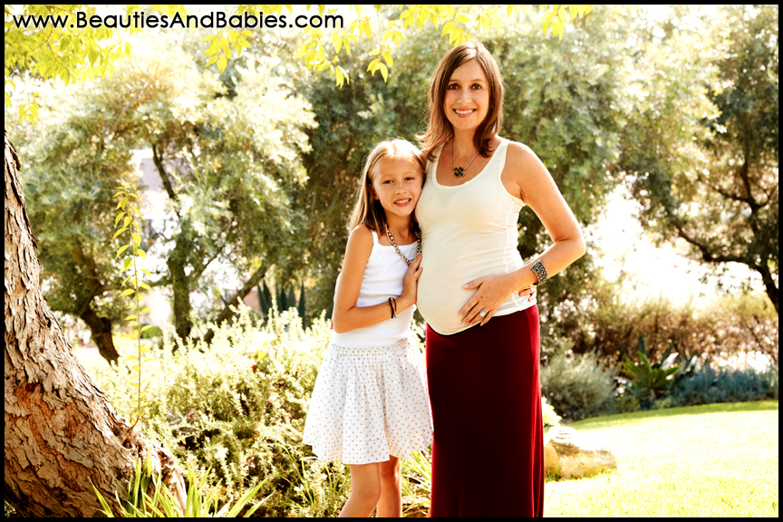 pregnancy and family portrait photography at home Los Angeles photographer