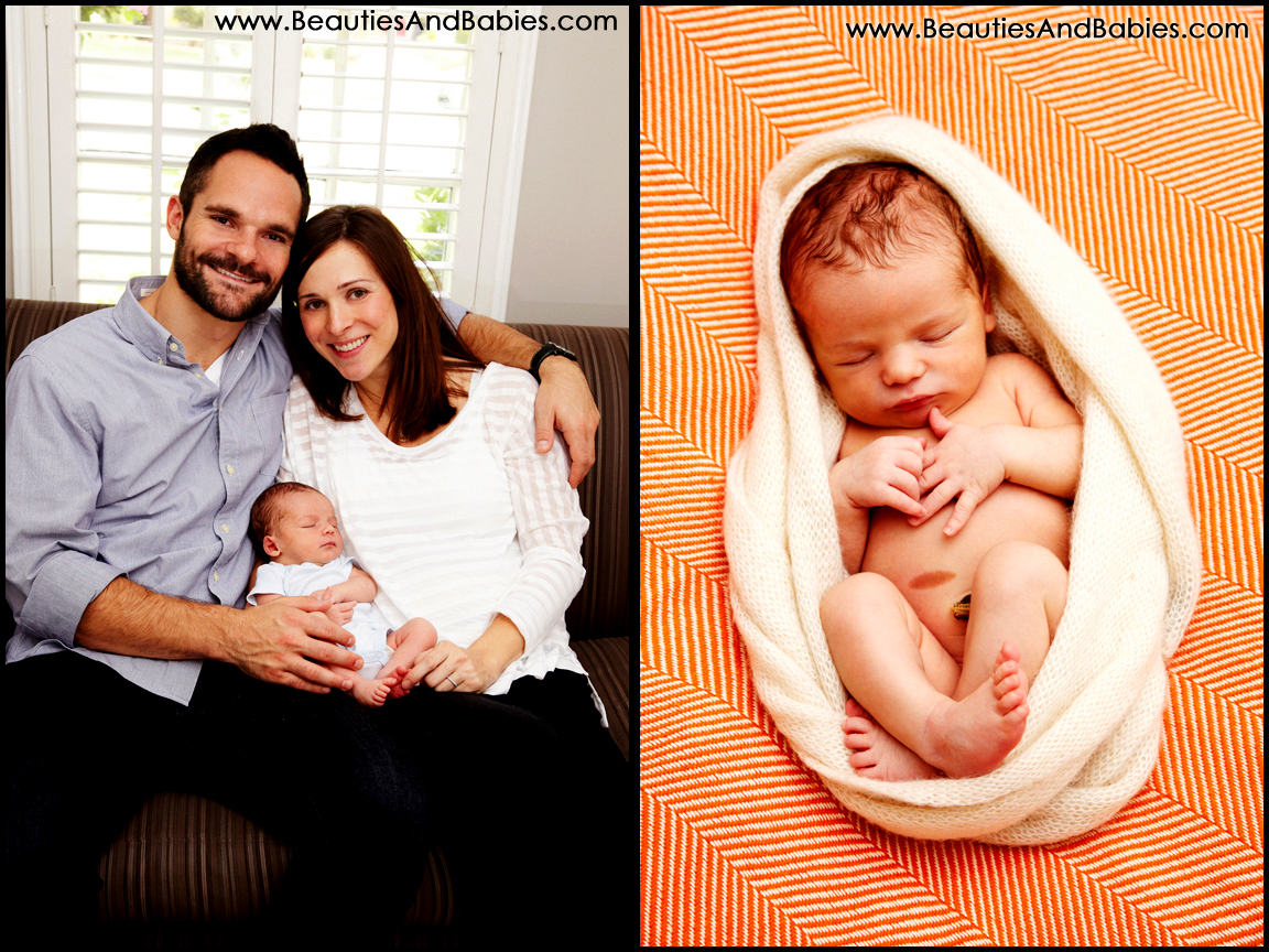 professional newborn and family photographer Los Angeles