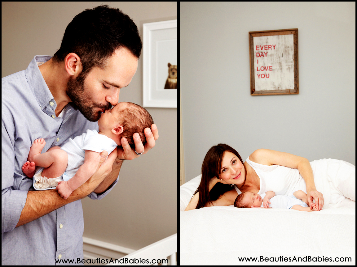 Los Angeles professional newborn baby photographer