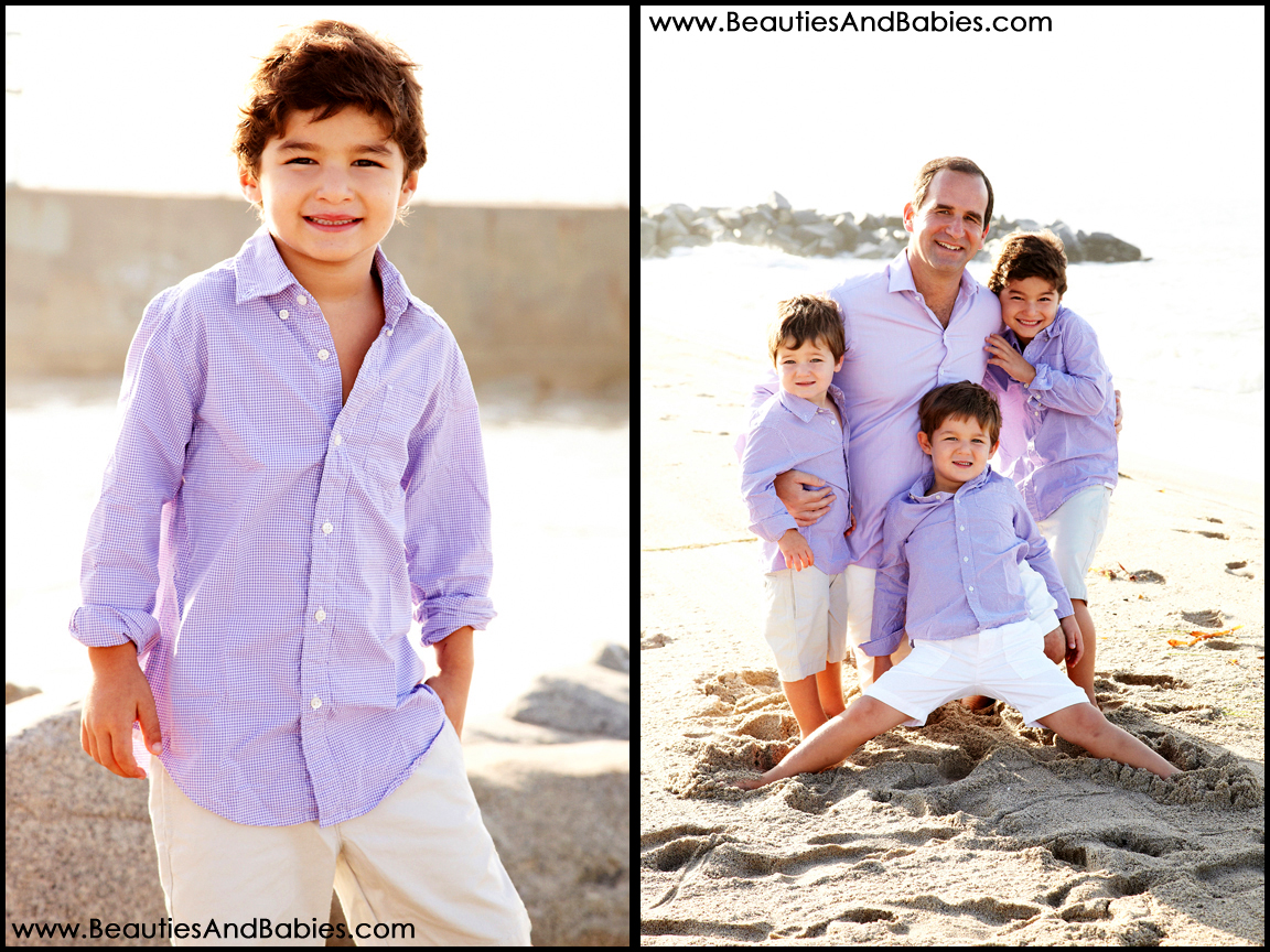 top beach family photographer Los Angeles