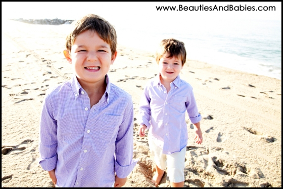 brothers portrait photography Lso Angeles beach photographer