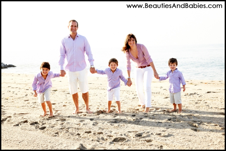 professional family pictures Los Angeles beach photography