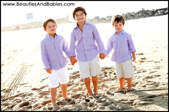 three brothers professional kid photographer Los Angeles