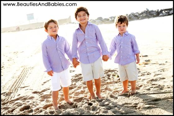 three brothers professional kid photographer Los Angeles
