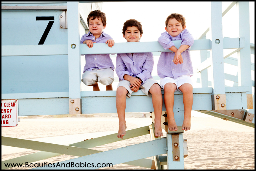 three brothers professional child photography Los Angeles