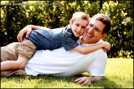 father son outdoor photographer Los Angeles