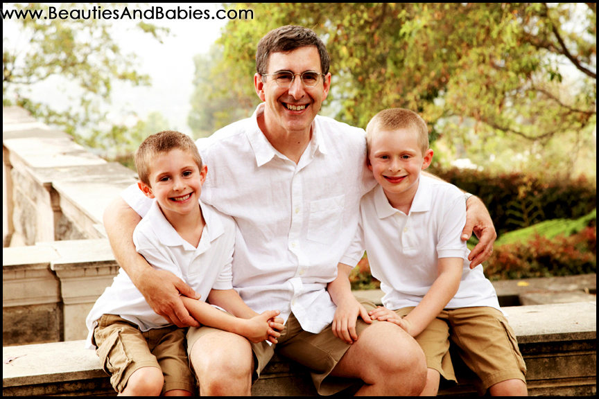 father and sons professional family photographer