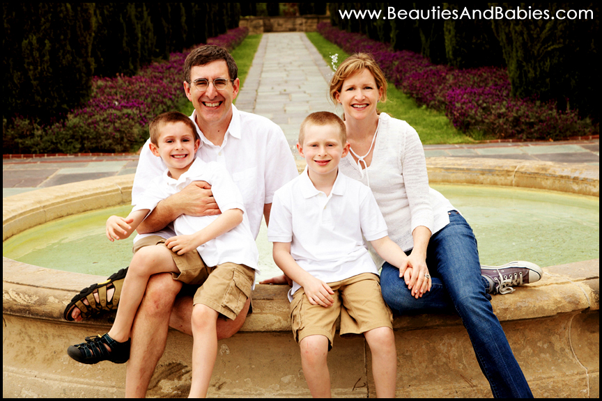Los angeles family portrait photography professional