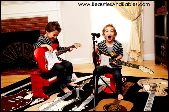 kids playing musical instruments professional child photography