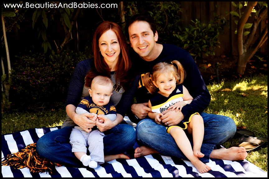 outdoor family portrait photography Los Angeles