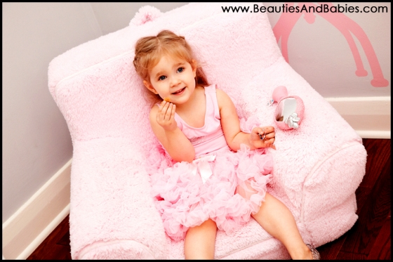 little girl professional photography dress up princess