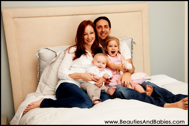 Los Angeles family photography at home professional photographer
