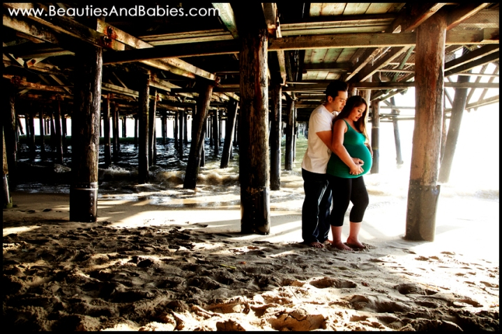 pregnant couple professional photography Los Angeles