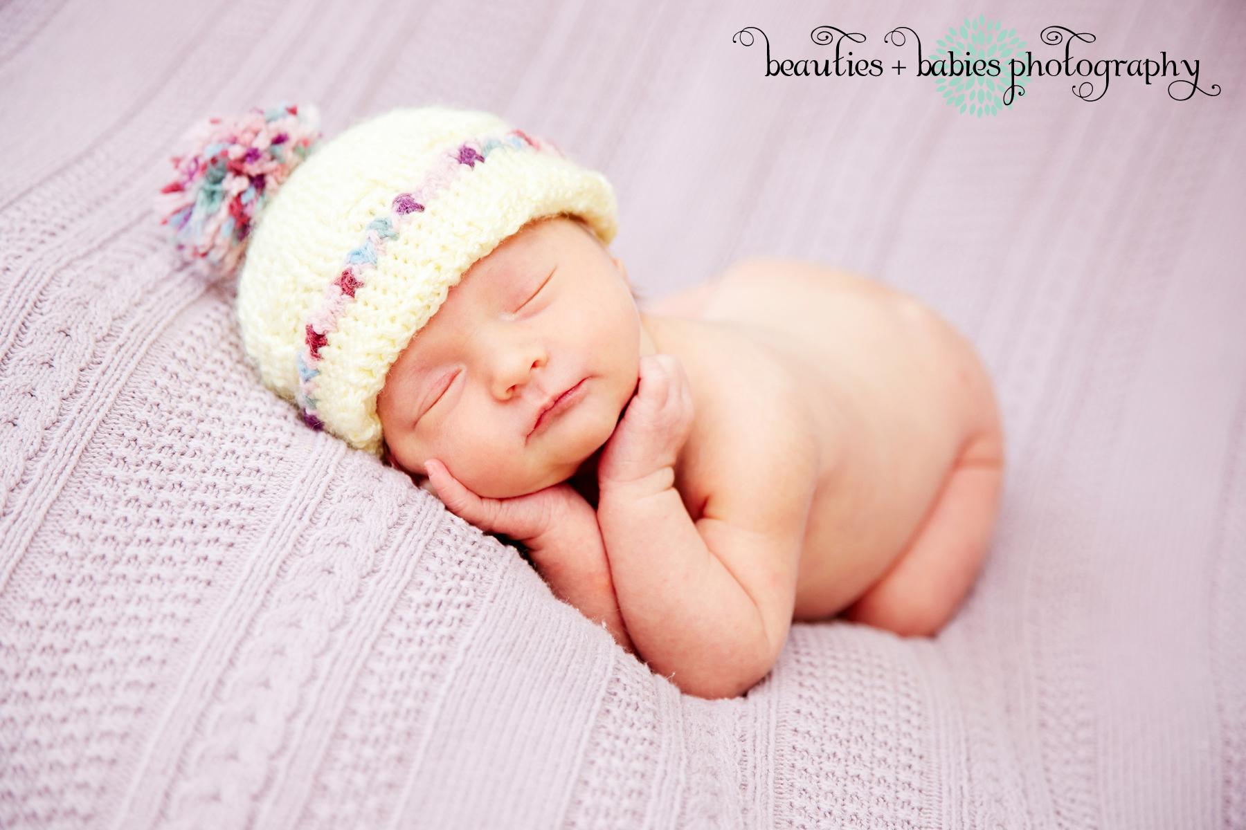 sleeping newborn baby girl pictures Los Angeles photo ...