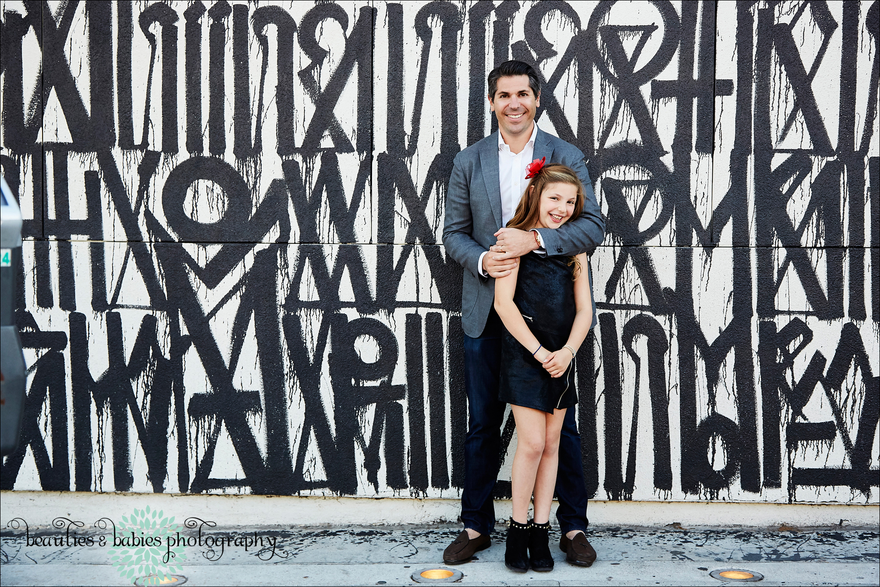 Creative Family photography for holiday cards Los Angeles photographer