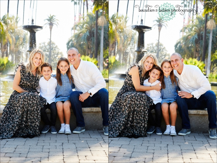 Outdoor Family and children's photography Los Angeles professional photographer