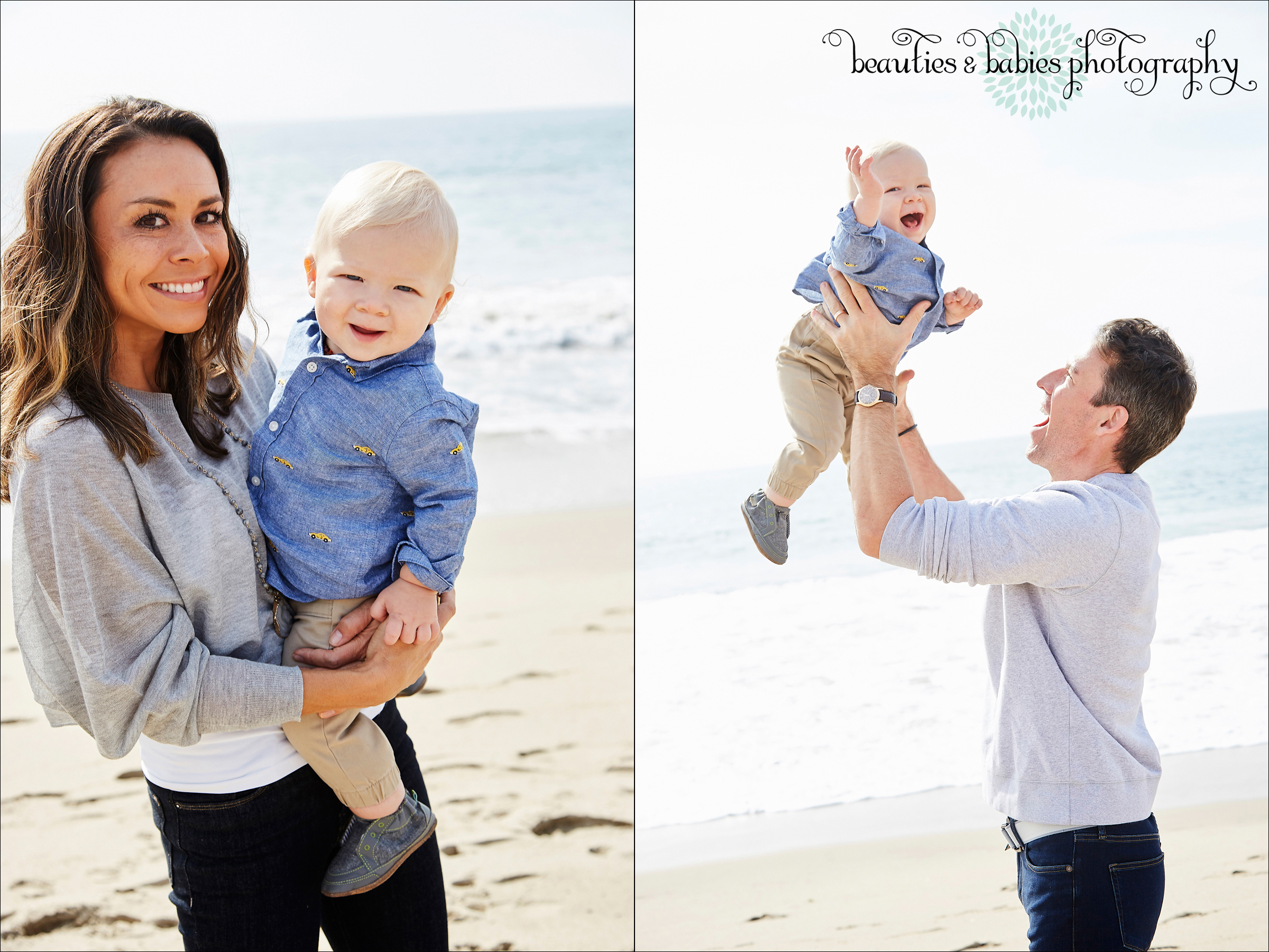 Los Angeles baby, children and family photography beach photographer