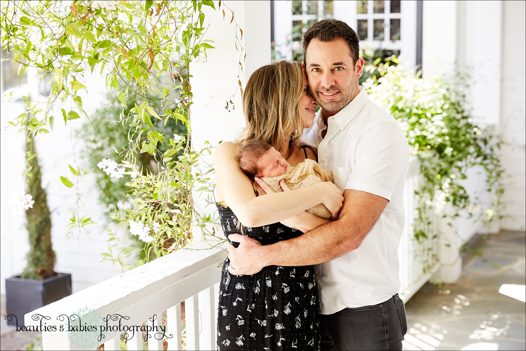 at-home newborn baby photography Los Angeles baby and family photographer