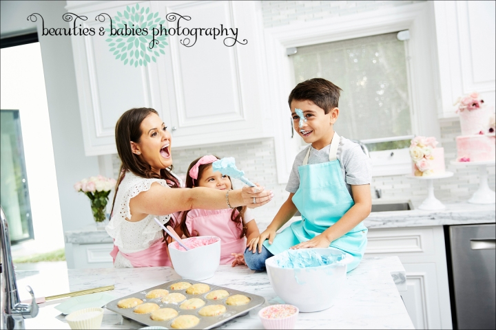 Sweet E's Bake Shop brand photography, Los Angeles family and kids photographer Los Angeles brand and marketing photographer
