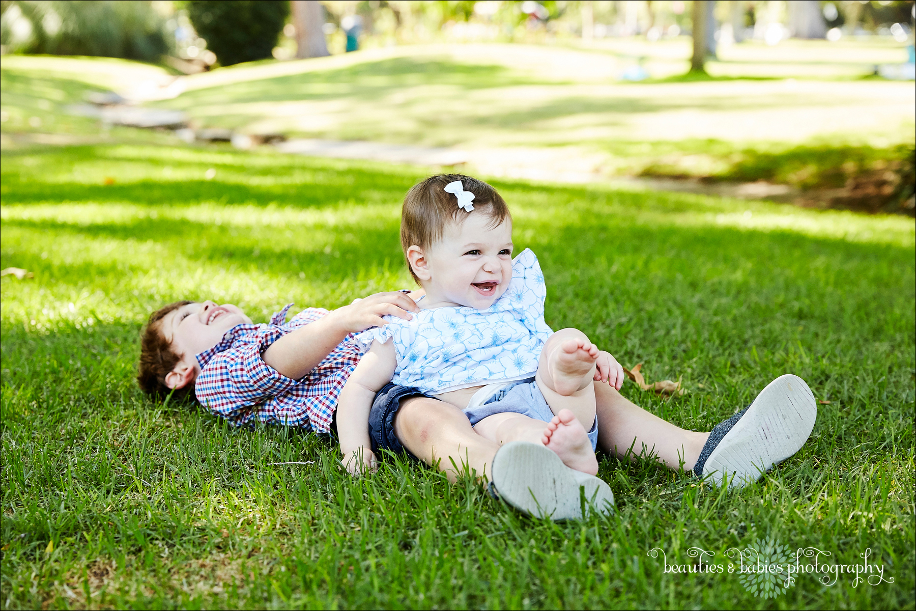 Los Angeles outdoor natural light park photography professional kids and family photographer