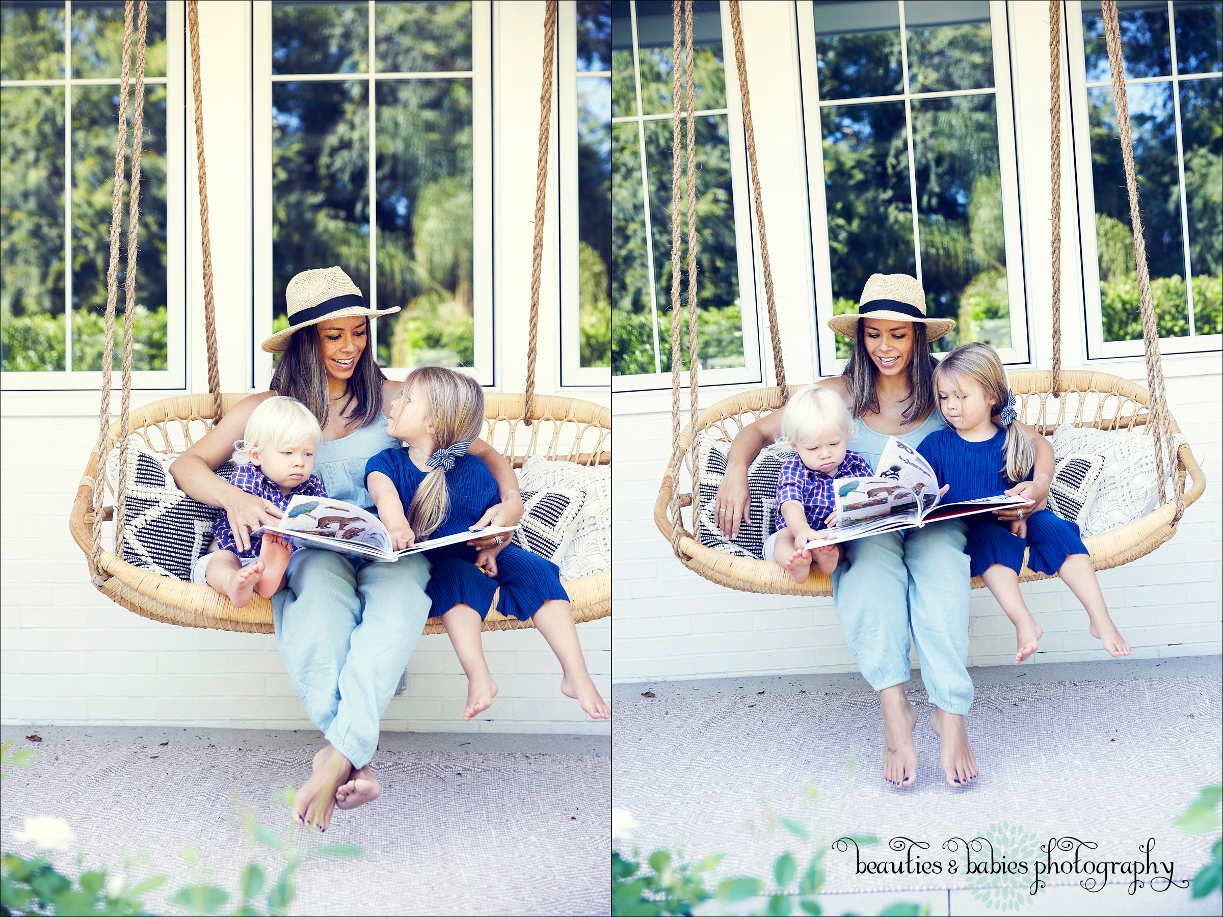 mother and children professional pictures, creative at-home mom and child photography Los Angeles